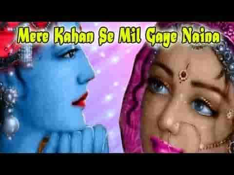 मेरे कान्हा के मिल गए नैन राधिका गौरी से भजन लिरिक्स