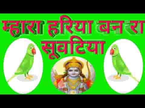 म्हारा हरिया बन रा सुवटिया तने राम मिले तो कहिजे रे लिरिक्स