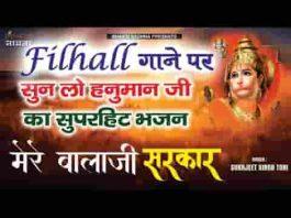 शिव शंकर के अवतार मेरे बालाजी सरकार दास तेरा हो जाऊँ